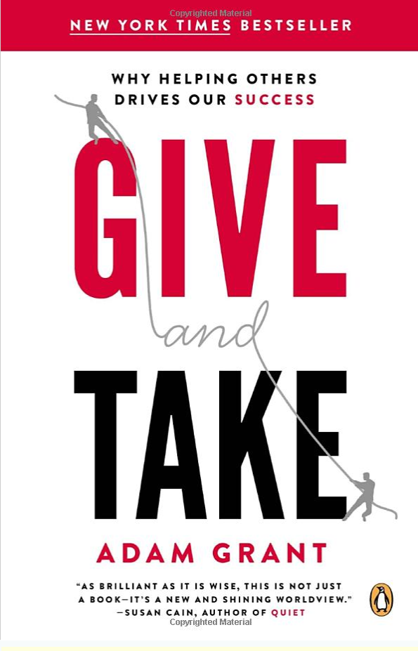 Cover of Give and Take by Adam Grant